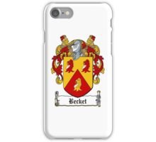 Becket iPhone Case/Skin