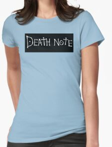Death Note Womens Fitted T-Shirt