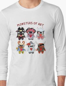 Monsters of Art Long Sleeve T-Shirt