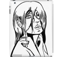 Ghoulie #1Mono iPad Case/Skin