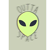 Outta Space Photographic Print