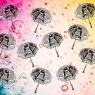 PARASOLS PATTERN by Tammera