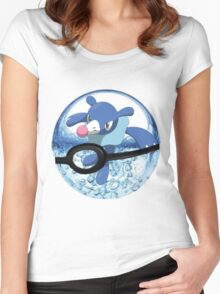 Popplio Women's Fitted Scoop T-Shirt