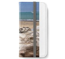 Sand beach iPhone Wallet/Case/Skin