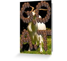 G.O.A.T Greeting Card