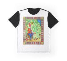 Medieval Flute Man Graphic T-Shirt
