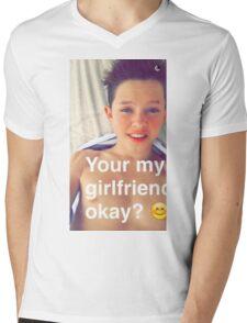 Jacob Sartorius you're my girlfriend Mens V-Neck T-Shirt
