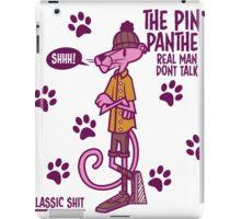 la pantera rosa  iPad Case/Skin