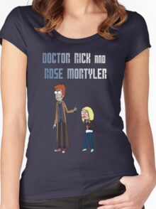 Doctor Rick and Rose Mortyler Women's Fitted Scoop T-Shirt