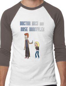Doctor Rick and Rose Mortyler Men's Baseball ¾ T-Shirt