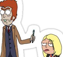 Doctor Rick and Rose Mortyler Sticker