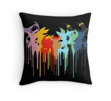Pokemon: Eeveelution Throw Pillow