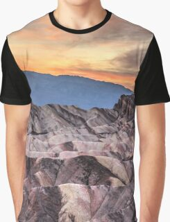 Sunset at Manly Beacon Graphic T-Shirt