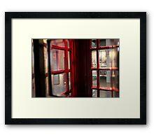 Telephone Thing (3) Framed Print