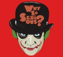 A Clockwork Clown - Serious Droog One Piece - Long Sleeve