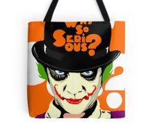 A Clockwork Clown - Serious Droog Tote Bag