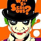 A Clockwork Clown - Serious Droog by butcherbilly