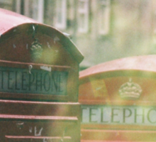 Telephone Thing (4) Sticker