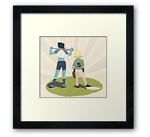 Bob and Perry Framed Print