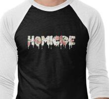 Homicide Men's Baseball ¾ T-Shirt
