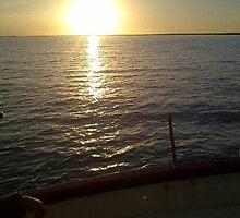 Sunset Sailing On April Skies by blaxeofglory