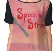 Spoonie Strong - Warm Colors Chiffon Top