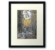 Winter in September #2 Framed Print
