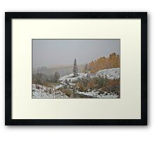 Winter in September #4 Framed Print