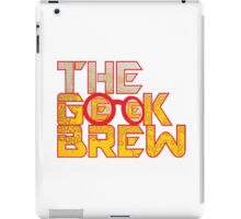 The Geek Brew Retro Logo iPad Case/Skin