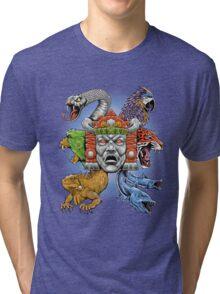 Hidden Temple Tri-blend T-Shirt