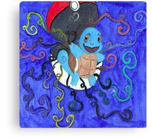 Rainbow Squirtle Canvas Print