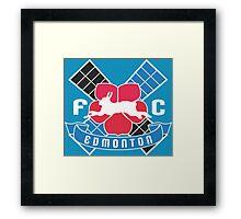 FC Edmonton Framed Print