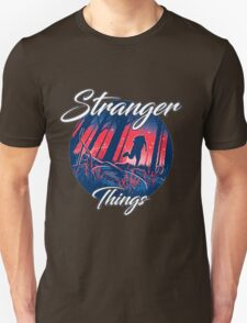 stranger things - tv series netflix Unisex T-Shirt