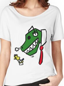 Buddy and Dino Women's Relaxed Fit T-Shirt