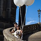 Germany. Dresden. Bride and Groom. by vadim19