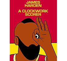 James Harden (A Clockwork Scorer) Photographic Print