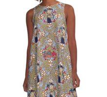 Bellydance Tribal A-Line Dress