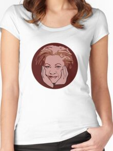 Toni Morrison Women's Fitted Scoop T-Shirt