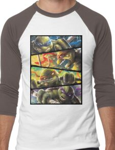 TMNT - Turtle Power Men's Baseball ¾ T-Shirt