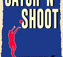 Catch-N-Shoot (Damian Lillard) by cbgigot
