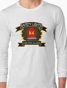 Safety Lights Are For Dudes Holtzmann Ghostbusters Quote Long Sleeve T-Shirt