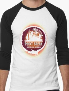 Go Get Wild Beach Men's Baseball ¾ T-Shirt