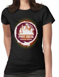 Go Get Wild Beach Womens Fitted T-Shirt