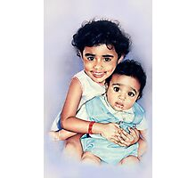 The Varkey Kids Photographic Print