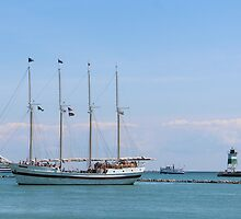 Sailboat by WeeZie