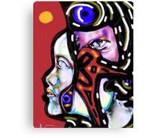 Head Games  Canvas Print