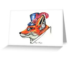 Mr Fenton Fox Greeting Card