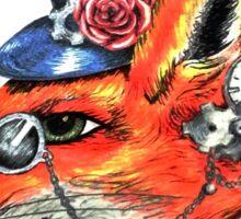 Mr Fenton Fox Sticker