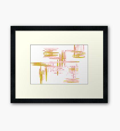 MoMo Framed Print