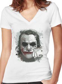 The Joke ! Women's Fitted V-Neck T-Shirt